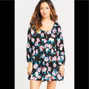 NWT Show Me Your MuMu Trixie Tier Tunic Monet Flow